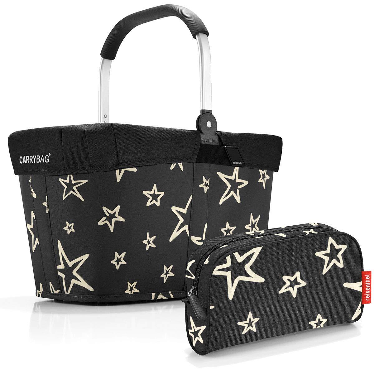 dots-dots reisenthel carrybag mit Abdeckung Cover Deckel Plus GRATIS makeupcase