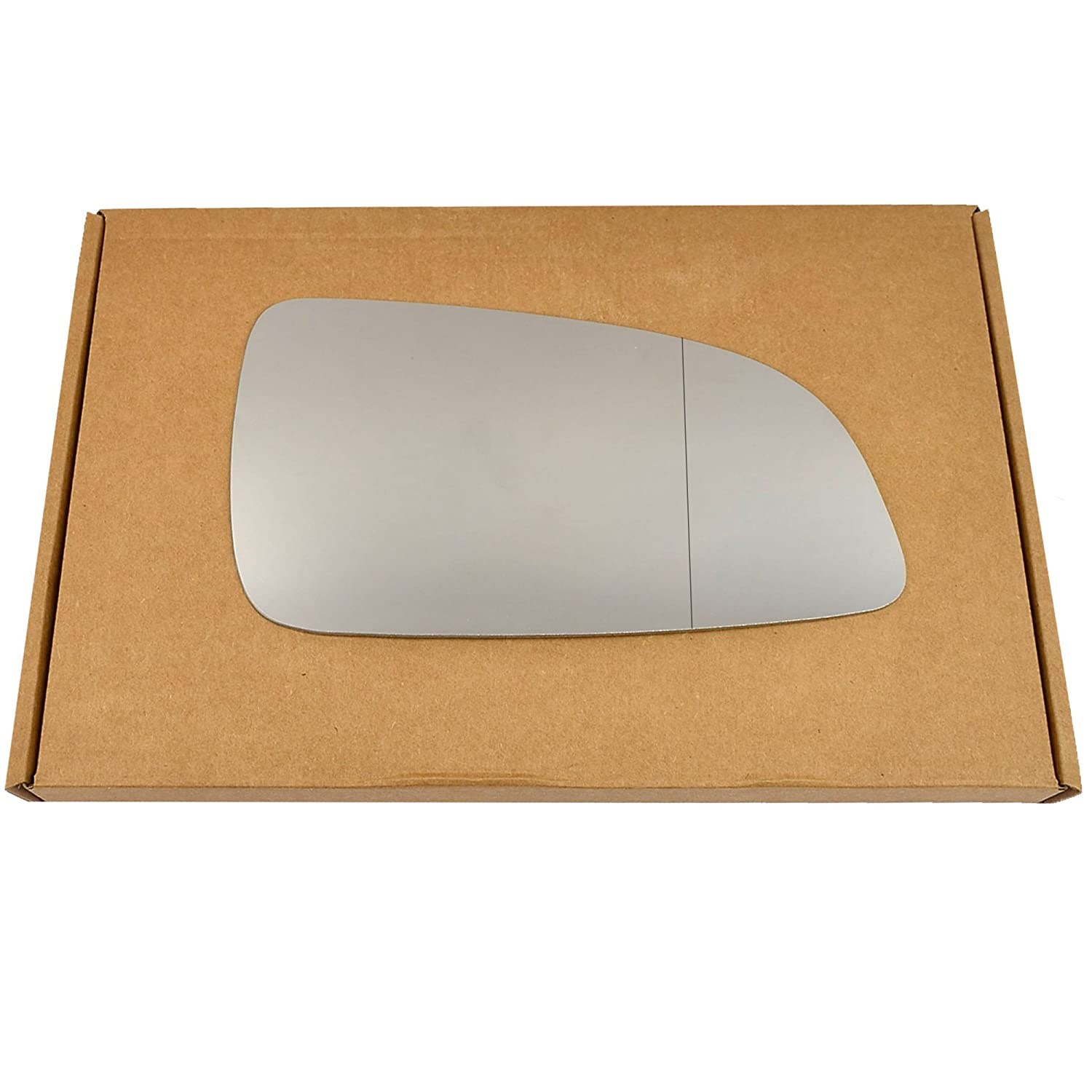 Wide Angle Right driver side Silver Wing mirror glass
