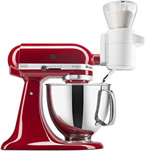 KitchenAid KSMSFTA Sifter + Scale Attachment, 4 Cup, White