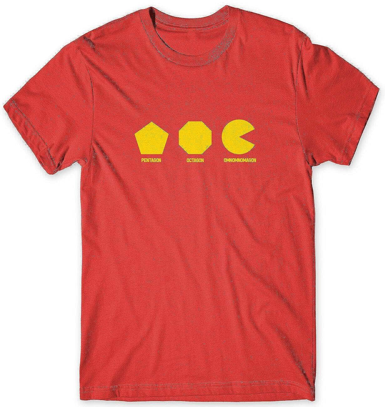 Toddrick Detalle sobre Pentagon Octagon Omnomnomagon Camiseta ...