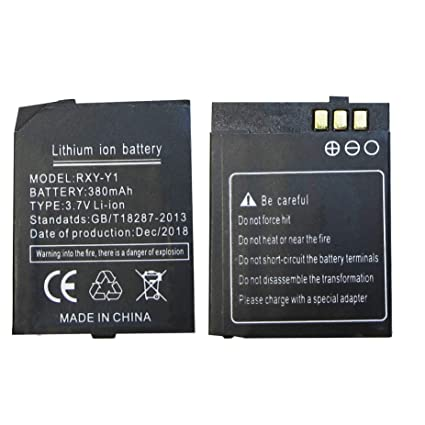 Amazon.com: RYX-Y1 Smart Watch Battery Y1 Battery for Smart ...