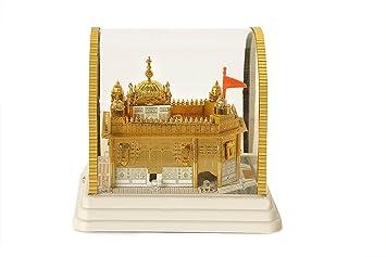 Buy Golden Temple Model Amritsar Multicolor Lights Medium 7