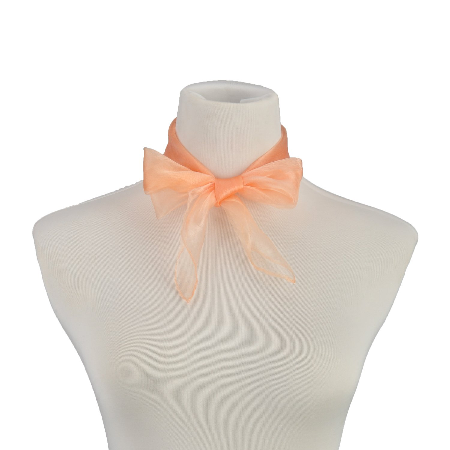 Fashion Extremely Light Square Scarf Music Rhythm Fun Magic Show Scarves Champagne by HERRICO (Image #5)