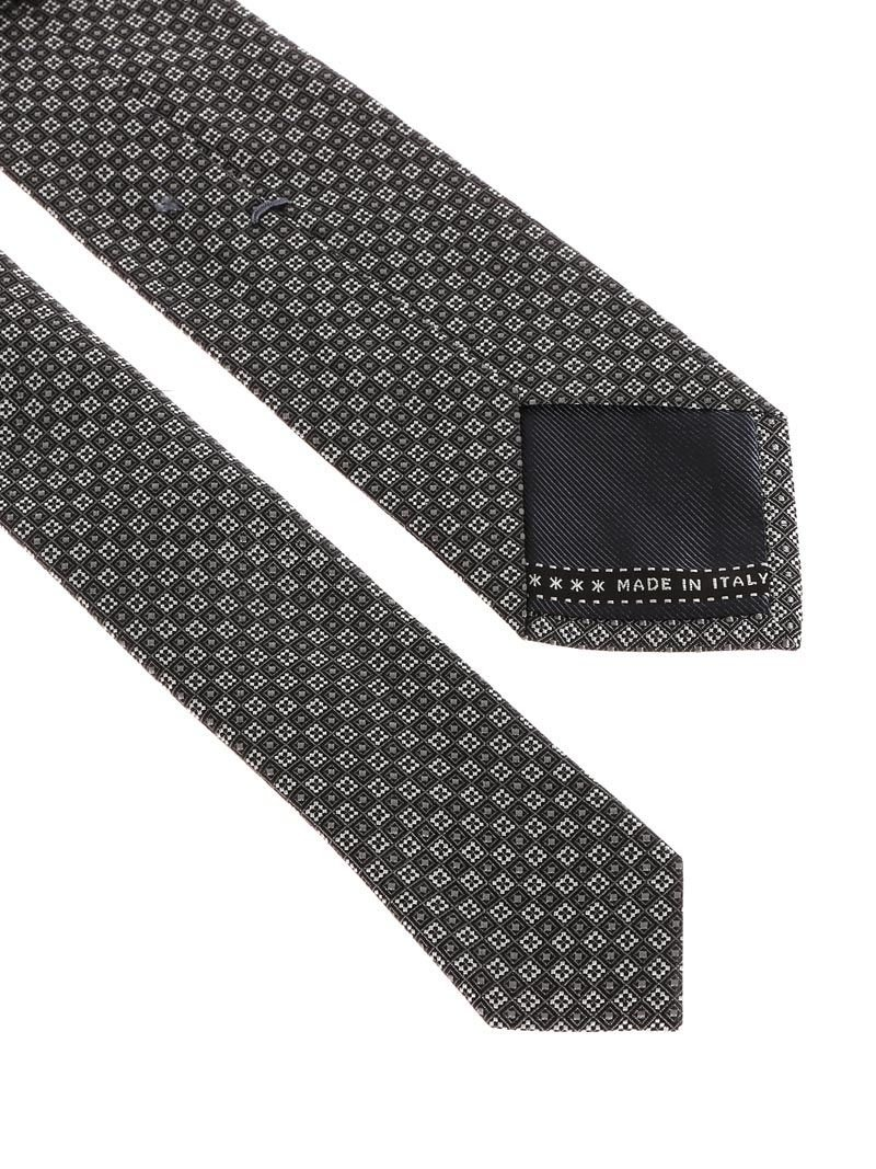 Z Zegna Men's Z3d031l7b Grey Silk Tie by Z Zegna (Image #2)