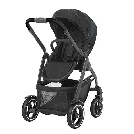 Graco Evo XT - Coche de bebé, color gris y negro: Amazon.es ...
