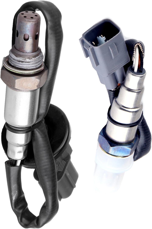 2pcs Upstream Downstream Oxygen Sensor 02 O2 for 2001-2004 Toyota Tundra V8 4.7L