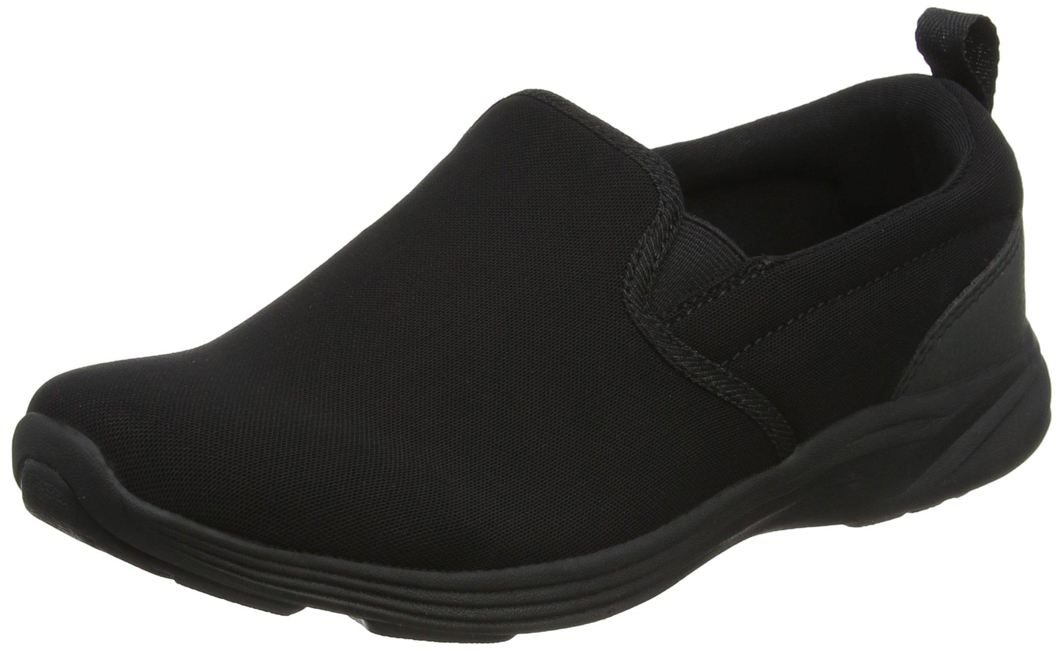 Vionic Womens Agile Kea Slip-On Sneaker Black/Black Size 10 Wide