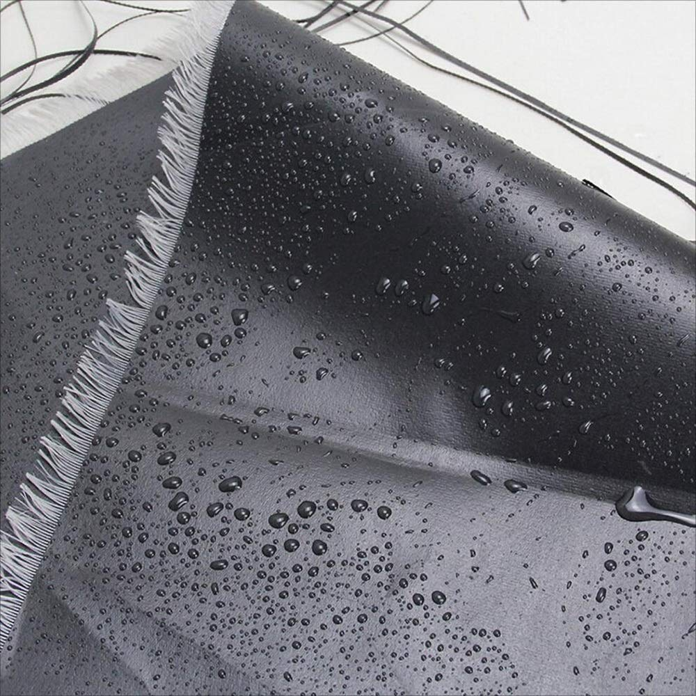 TARPAULIN Plane/Wasserdichter Stoff, schwarzer PVC-starker staubdichter Anti-Tragen 200G Plane-Markise-Stoff, der Segeltuch 200G Anti-Tragen / M2, 1.5M-6M kräuselt (größe : 4mx4m) 882cfd