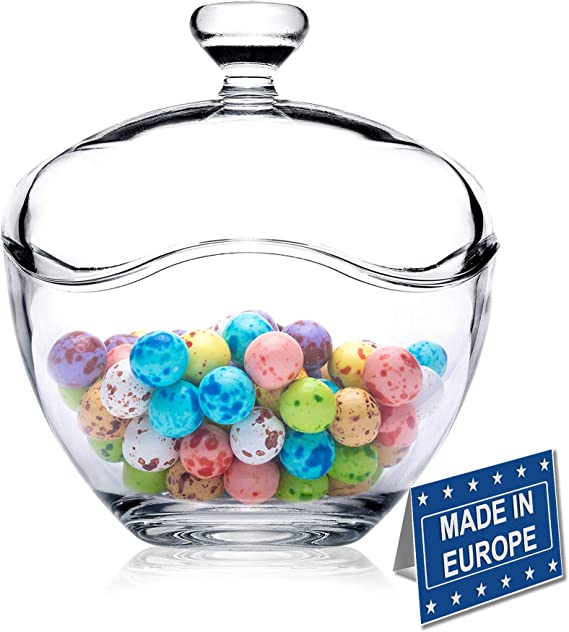 2 x Candy Lolly Buffet Fish Glass Wedding Party Jars Bowls