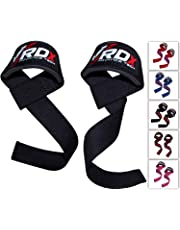 RDX Weight Lifting Straps - Padded Wrist Support Non Slip Flex Gel Grip - Great for Powerlifting, Bodybuilding, Gym Workout, Strength Training, Deadlifts & Fitness Workout