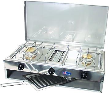 Campingaz - Cocina a gas, incluye tostador y encendedor de ...
