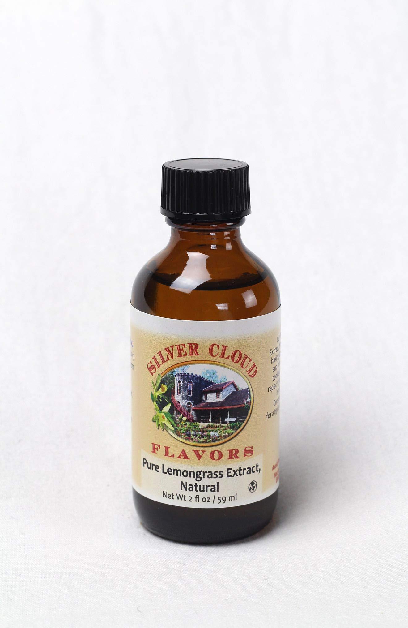 Pure Lemongrass Extract, Natural - 2 fl. oz. bottle