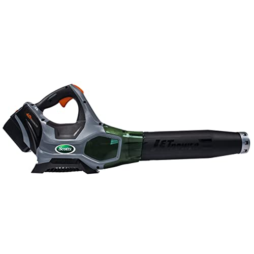 Scotts Outdoor Power Tools LB20040S 40-Volt 140 MPH Cordless Leaf Blower, 2AH Battery Fast Charger Included