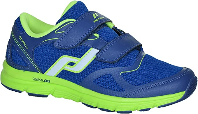 Pro Touch Zapatillas de Run oz Pro V Velcro Jr – D. Azul/Verde ...