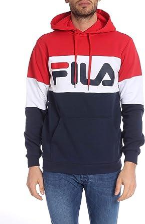 Fila Luxury Fashion Hombre 687001G06 Rojo Sudadera | Otoño ...