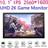 10 inch 2K Game Monitor 2560x1600 UHD IPS 16:10 250cd/m2 Gaming Display Dual HDMI Input for PC DVD PS3 PS4 Xbox One Xbox360 CCTV Camera