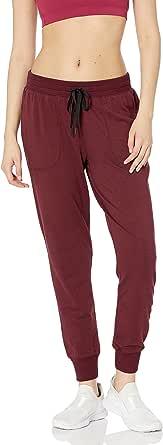 Amazon Essentials Studio Terry - Pantalón de chándal para mujer