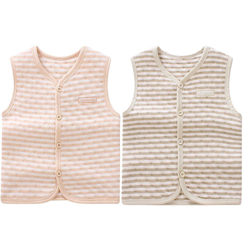 ThreeH Baby Warm Vest Cotton Unisex Infant