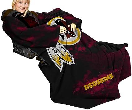 Amazon NFL Washington Redskins Comfy Throw Blanket With Cool Redskins Throw Blanket