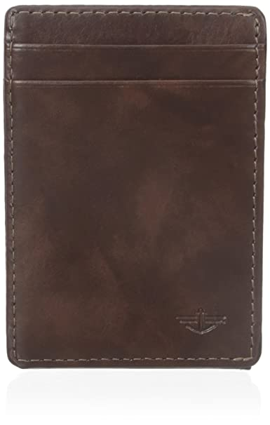 Dockers - Cartera de bolsillo para hombre - Marrón - talla única