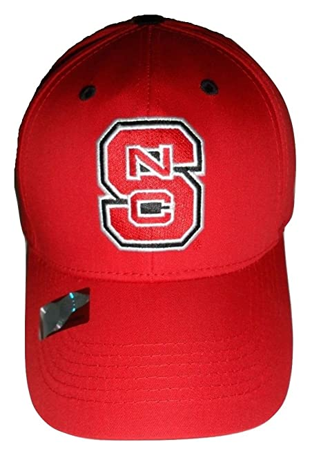 8fa292e1c0ad5a Image Unavailable. Image not available for. Color: NC State Wolfpack Logo  Cap Structured Red Hat