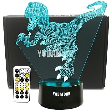 Christmas Gifts For Boys.Amazon Com Yodafoor Dinosaur Night Light Lamp Dinosaur Toy