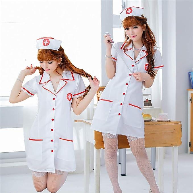 Amazon.com: Juego de disfraz sexy para enfermera, con ...