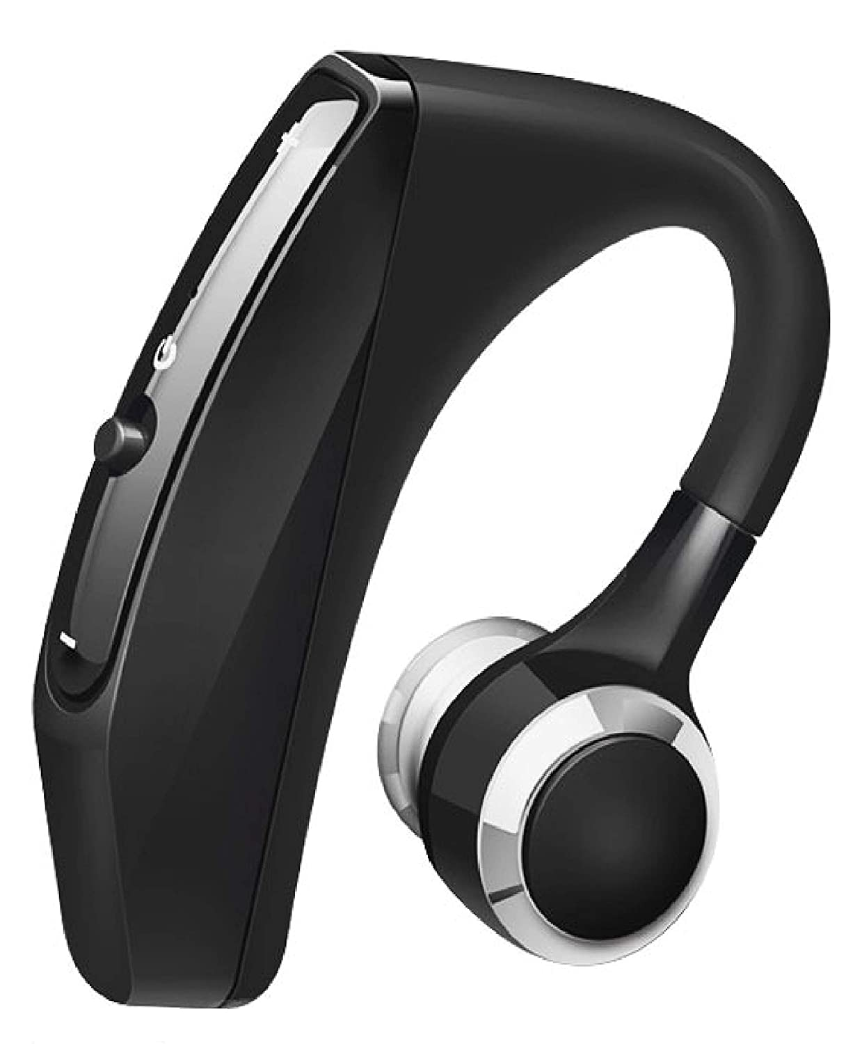 Pelotek; Over The Ear Bluetooth Headphones | Wireless Bluetooth Headset for Cell Phones| Hand Free Bluetooth Headset for Cellphone | with Mic Voice Control Noise Cancelling Design (Black
