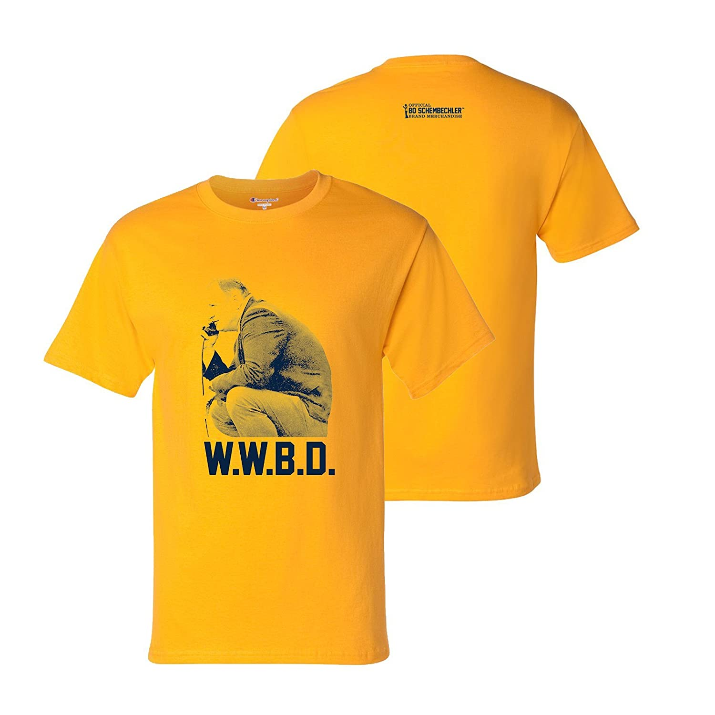 d3d053e7 Amazon.com: Bo Schembechler WWBD Champion T Shirt: Clothing