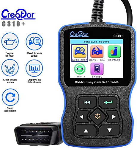 Creator C310+ is a excellent BMW scan tool
