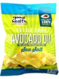 Good Health Avocado Oil Potato Chips, Sea Salt, 1 oz (Pack of 24)
