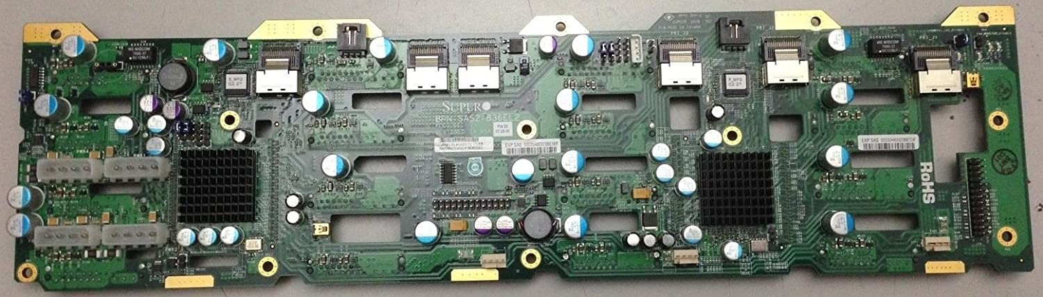 Amazon com: 836 Backplane with Two LSI SAS2X28 Expander Chips: Home