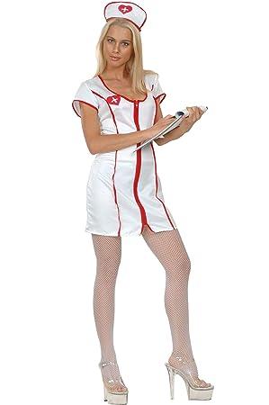 Disfraz de enfermera sexy para mujer: Amazon.es: Juguetes y ...