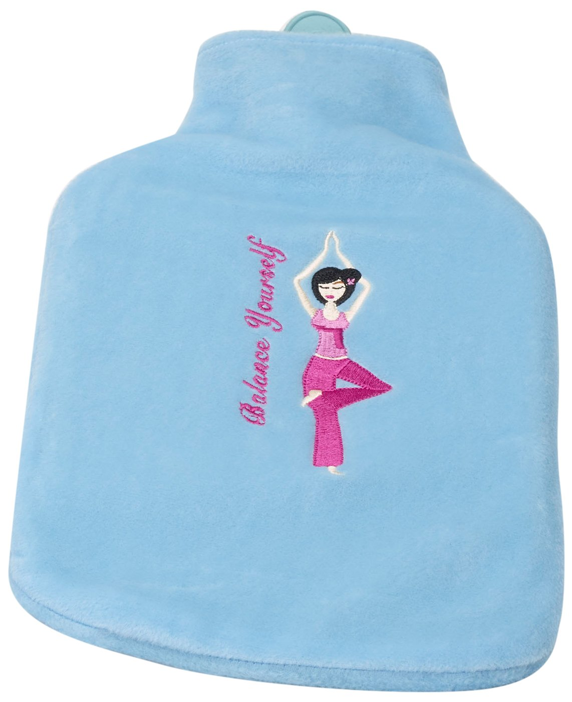 Spa Comforts Balance Yourself Water Bottle, Blue