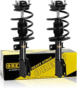 Quick Complete Struts Assembly Gas Shocks 2008-2012 Buick Enclave Front Pair