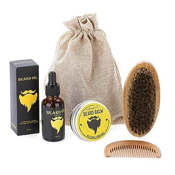 7fbef447e278 Amazon.com  Mens Beard Grooming Kit