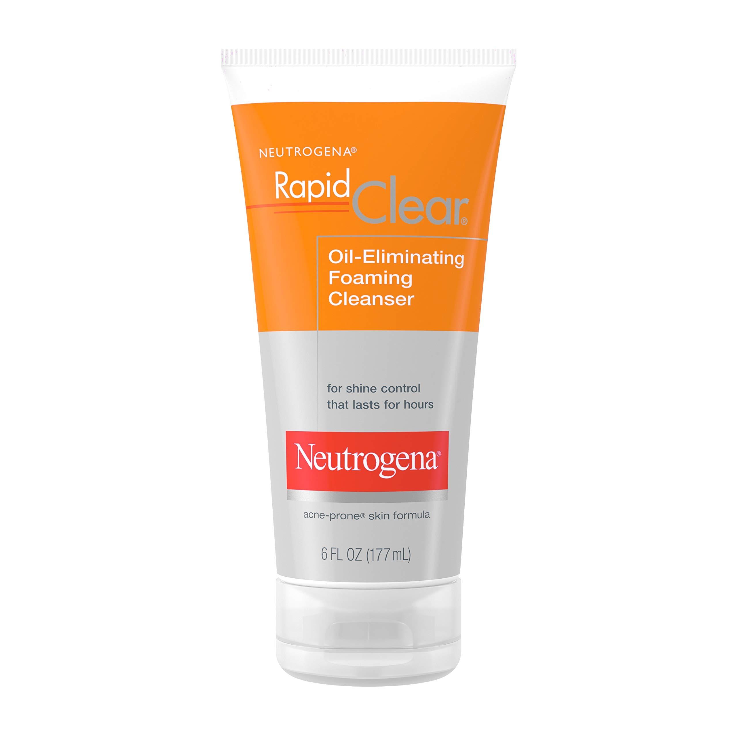 Neutrogena Rapid Clear Oil-Eliminating Foaming Facial Cleanser