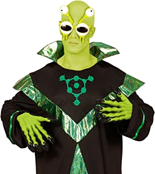 Alien-Lunettes hommes verts extraterrestres martien plaisanterie article Accessoire