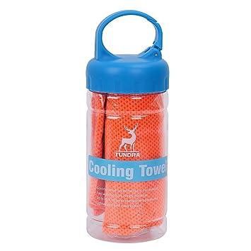 Barrageon 1 Pieza Toalla de Enfriamiento Fresca para Alivio de Calor Instantáneo para Deportes, Entrenamiento
