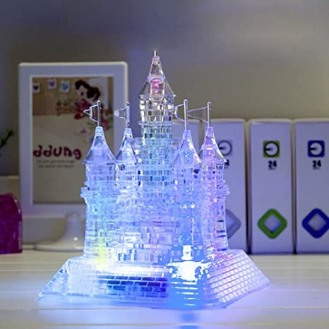 UK 3D Crystal Puzzle Castle With