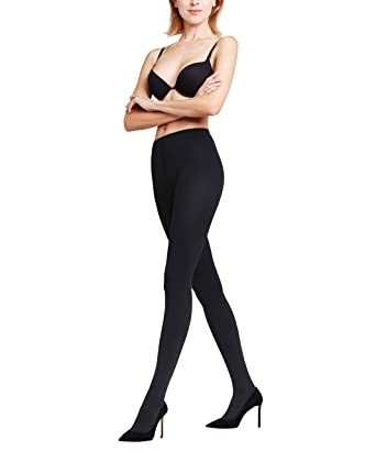 d49a487c52c Falke Women s Pure Matte 100 Tights at Amazon Women s Clothing store