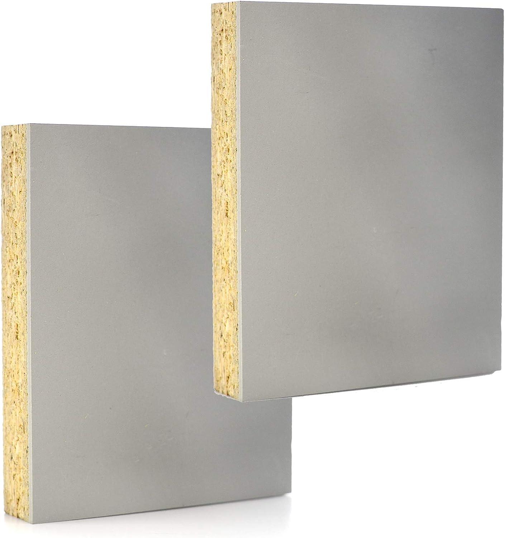 Carve Block Linoleum Mounted Studio Print Plate Gray Cut Carving Plates 2-Pack Project Artist Printmaking Art Set 9 x 12