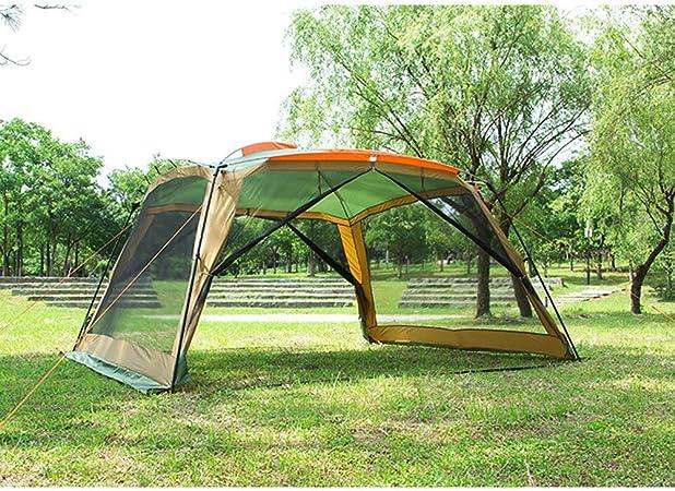Forall-Ms 3m Carpas de jardín y Gazebos, Carpa de Fiesta Mirador al Aire Libre con Lados de Malla Canopy Evento Refugio Mosquitera Tiendas de campaña Carpa,Yellow: Amazon.es: Hogar