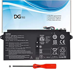DGTEC AP12F3J Laptop Battery Replacement for Acer Aspire S7 Ultrabook S7-191-53314G12ass S7-391-53314G12aws S7-391-53314G25aws Aspire 13.3