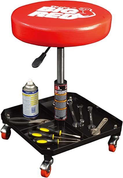 Torin Big Red Rolling Pneumatic Shop Seat