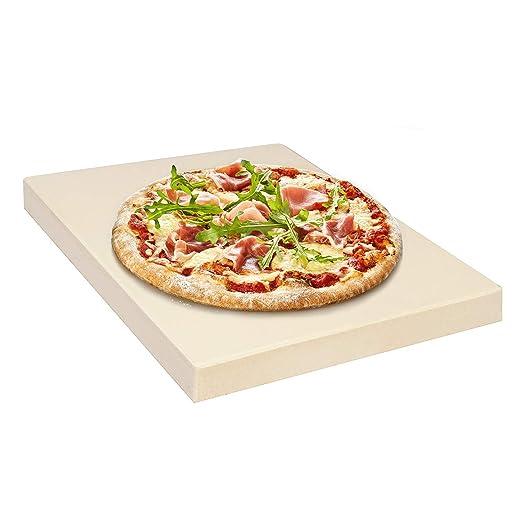 Piedra para Pizza - Piedra de Hornear Rectangular 31.8 x 25.5 cm ...