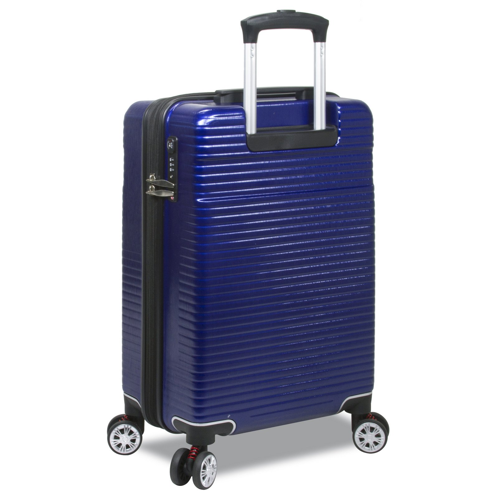 Dejuno Ashford 3-PC Hardside Spinner TSA Combination Lock Luggage Set - Navy by Dejuno (Image #3)
