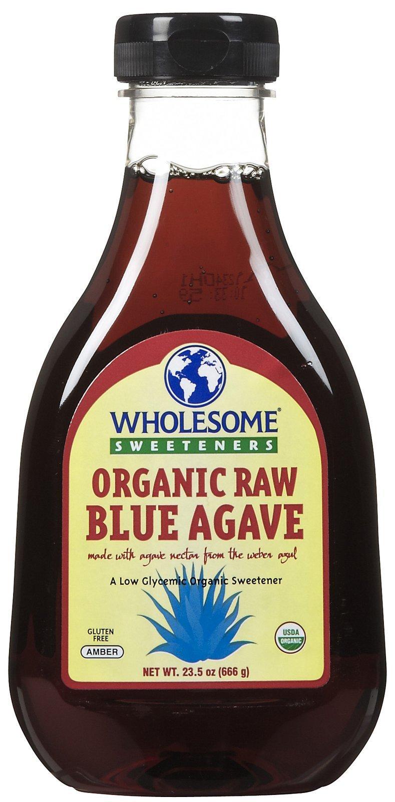 Wholesome Sweeteners Organic Raw Blue Agave, 23.5 oz