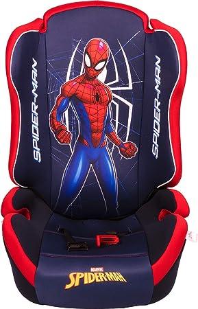 Marvel Spiderman ORIO Spiderman Autositz Gruppe 2-3 von 15 bis 36 kg