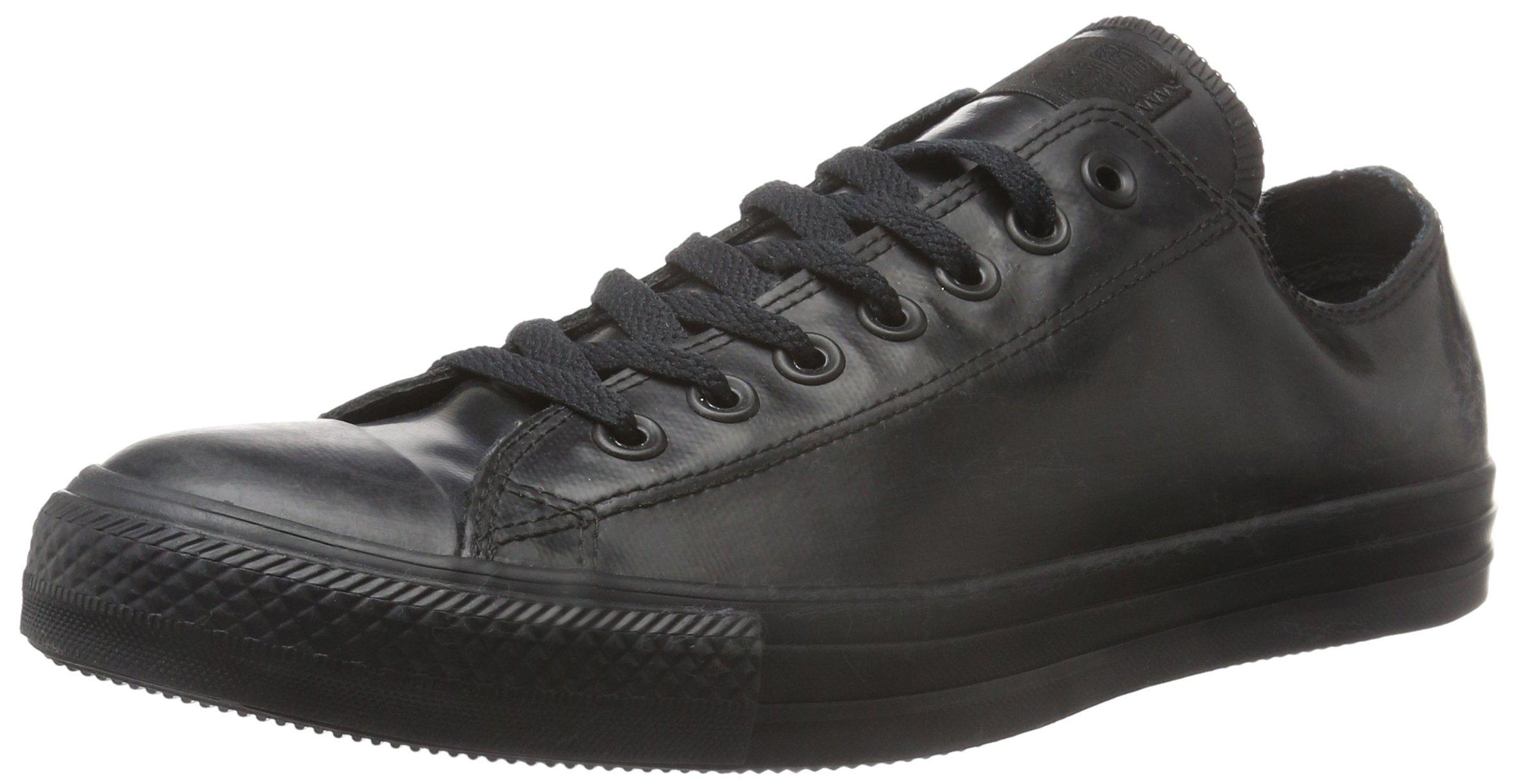 Converse Unisex Chuck Taylor All Star Ox Black/Black Basketball Shoe 11 Men US
